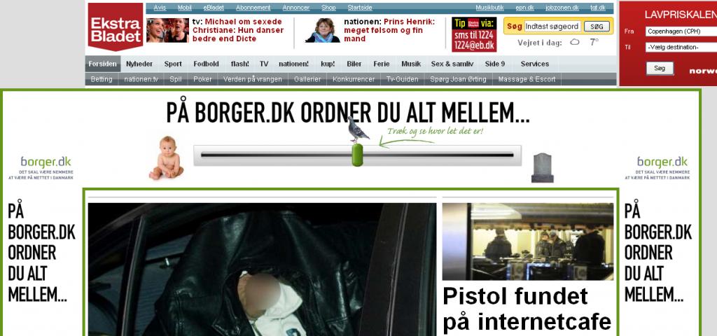 annonce for borger.dk på eb.dk