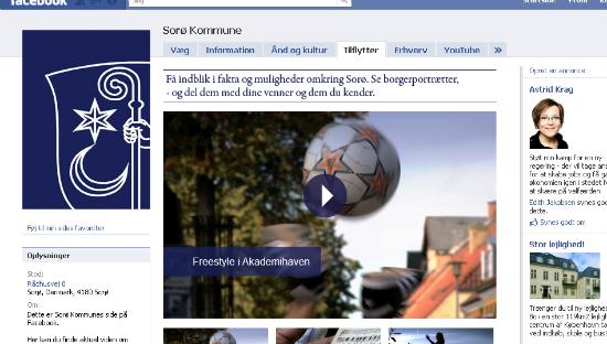 sorø kommunes facebookside