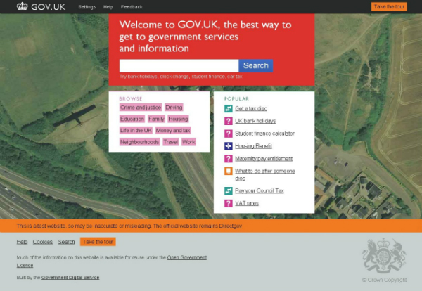 screenshot, gov.uk